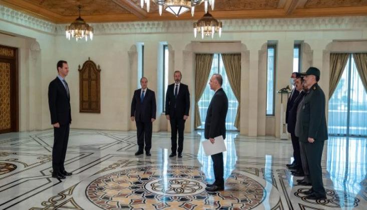 Başkan Esad Filistin ve İran'dan Güven Mektuplarını Aldı