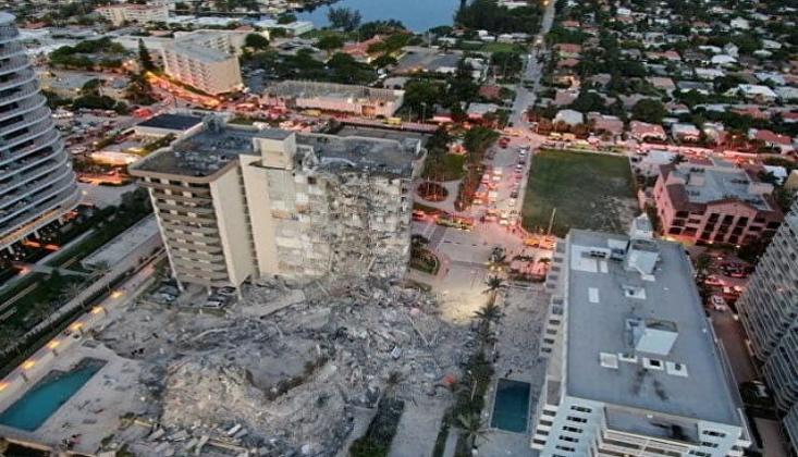 ABD'de Çöken Bina; Can Kaybı 24'e Yükseldi
