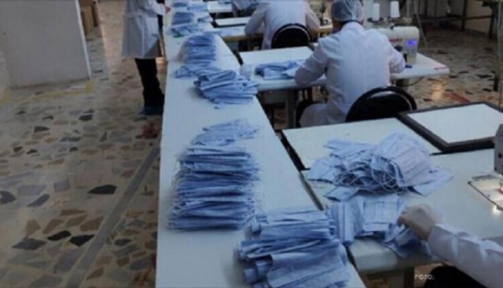Kaçak Üretilen 73 Bin 100 Tıbbi Maskeye El Konuldu