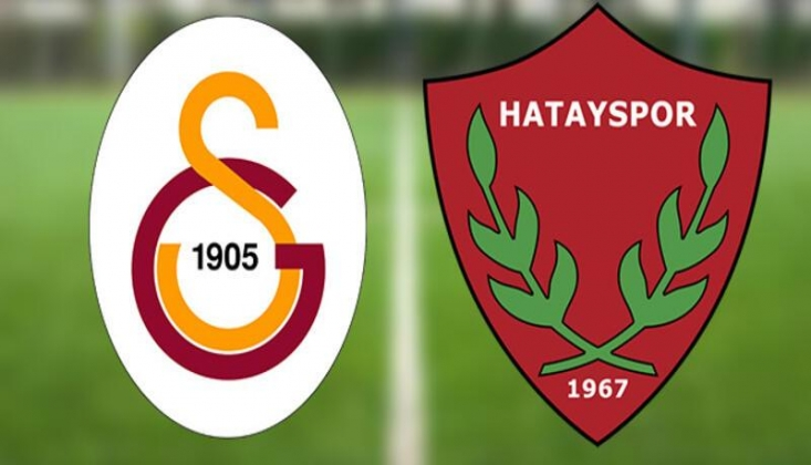 Galatasaray - Hatayspor Muhtemel 11'ler