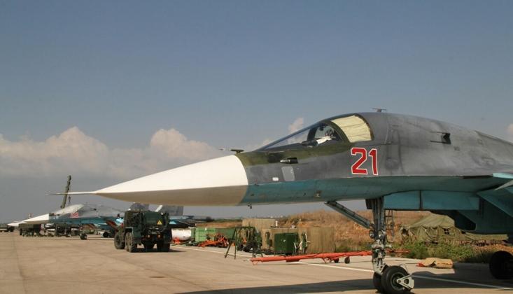 Suriye'de Militanlar Hmeymim Hava Üssü'ne İHA'larla Saldırmaya Çalıştı