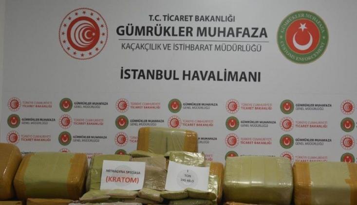 İstanbul Havalimanı'nda Rekor Miktarda Uyuşturucu Ele Geçirildi