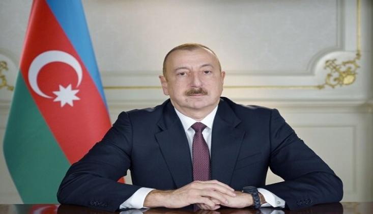 Aliyev, Reisi'yi Tebrik Etti