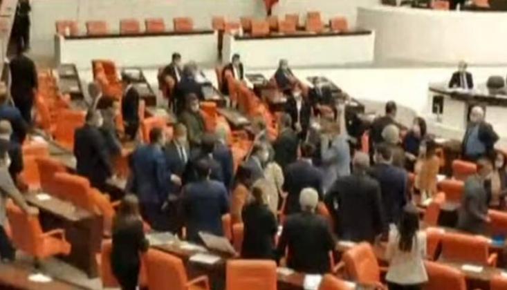 HDP ve MHP'li Vekiller Birbirlerinin Üzerine Yürüdü