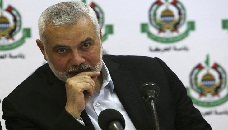 Haniye: Mahmut Abbas Filistin'in Önünü Tıkayacak Kararlar Aldı