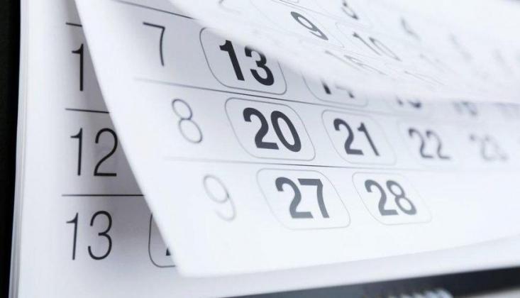 2020 Yılı Resmi Tatiller Listesi