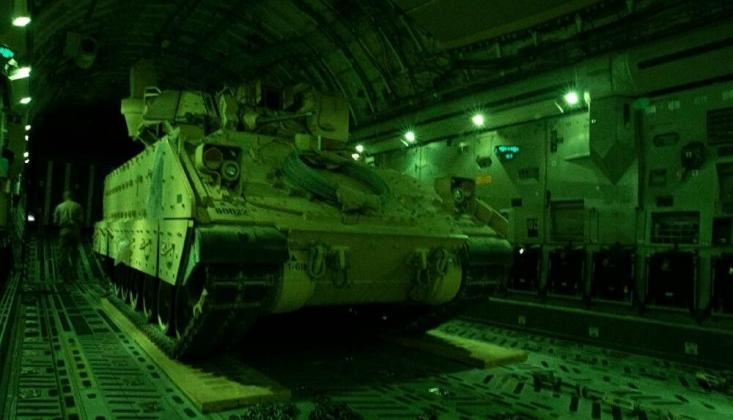 ABD'den Suriye'ye Zırhlı Araç Takviyesi