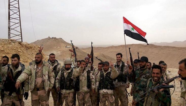 Suriye Ordusundan Teröristlere Misilleme