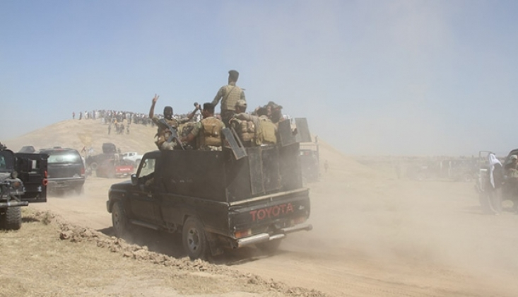 Irak Güçlerinden IŞİD'e Karşı Operasyon