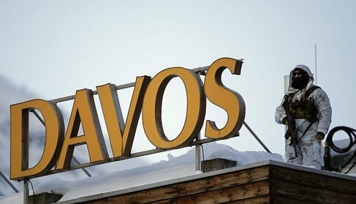 """Davos'ta """"Rus Ajan"""" İddiası"""