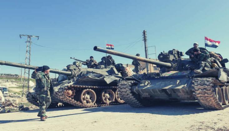 Suriye Ordusu İdlib'de 5 Köyü Daha Kontrol Altına Aldı