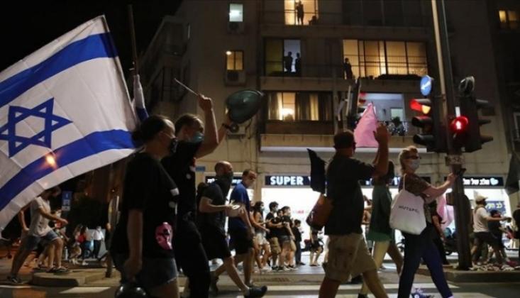 İsrail Sokakları Netanyahu Karşıtlarının Protestolarına Sahne Oluyor