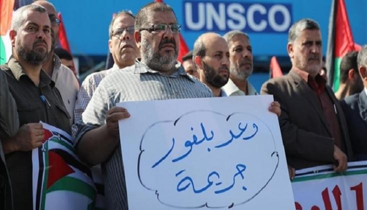 Filistinliler, Balfour Deklarasyonu'nu Yıldönümünde Protesto Ettiler