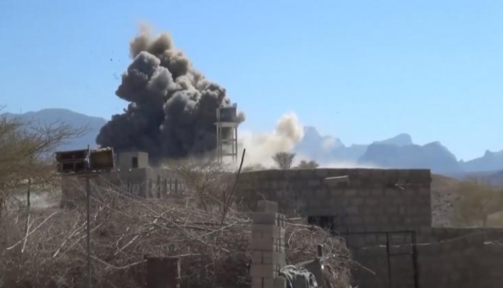 Suud, Yemen'in Farklı Bölgelerini Bombalamaya Devam Ediyor