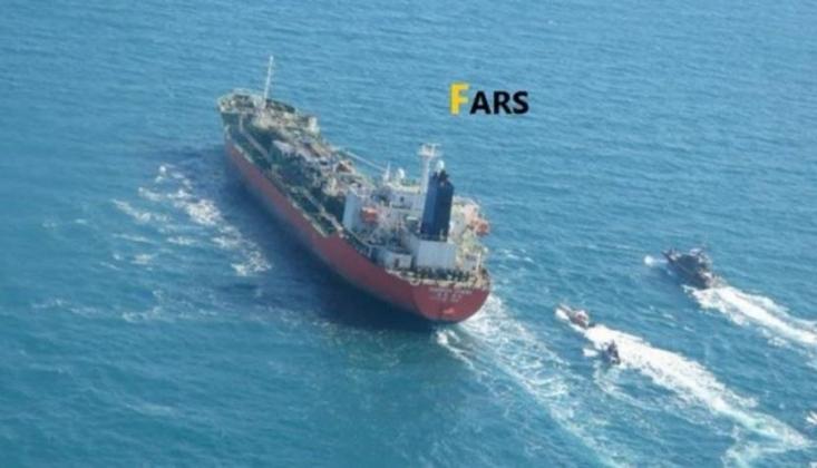İran, Güney Kore Bayraklı Petrol Tankerine El Koydu
