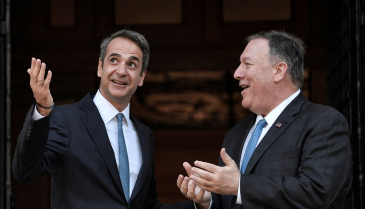 Yunanistan Türkiye'yi ABD'ye Şikayet Etti