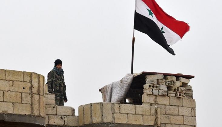 'Suriye Ordusu Menbiç'e Girdi'