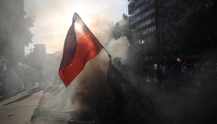 Şili'de Eylemcilere Karşı Önlem Hamlesi