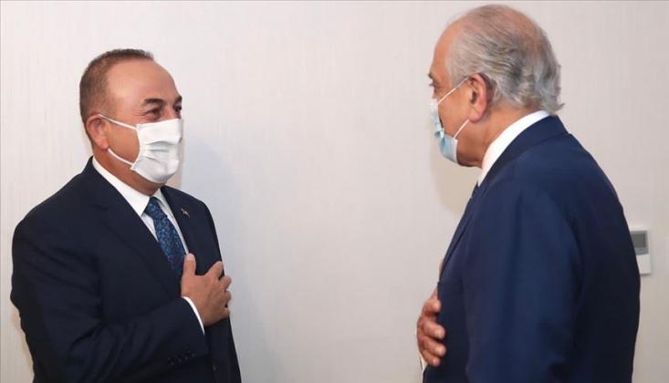 Çavuşoğlu, ABD'nin Afganistan Özel Temsilcisi Halilzad İle Görüştü