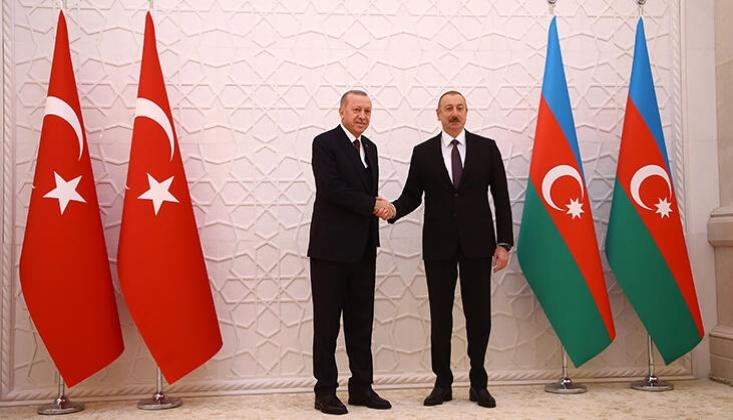 Erdoğan ve Aliyev Görüştü