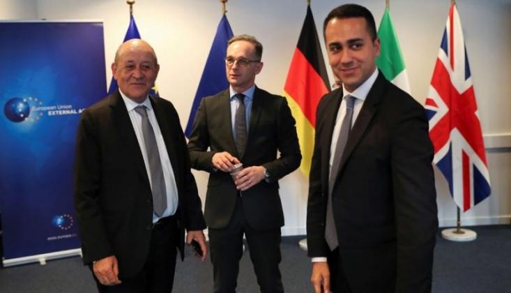 3 AB Ülkesinin Dışişleri Bakanının Libya Ziyaretleri