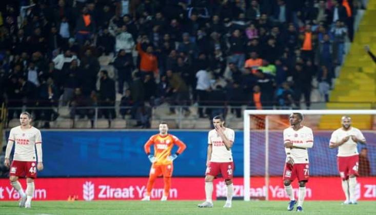 Galatasaray Kupada Yara Aldı!