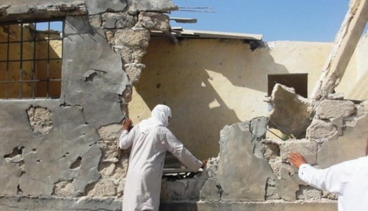 Mısır Ordusu Sivilleri Bombalıyor