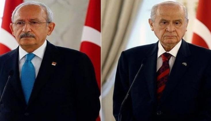 Kılıçdaroğlu ve Bahçeli'den Harekat Açıklaması