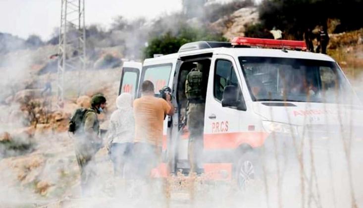 İşgal Güçleri Filistinli Sağlık Çalışanını Vurdu