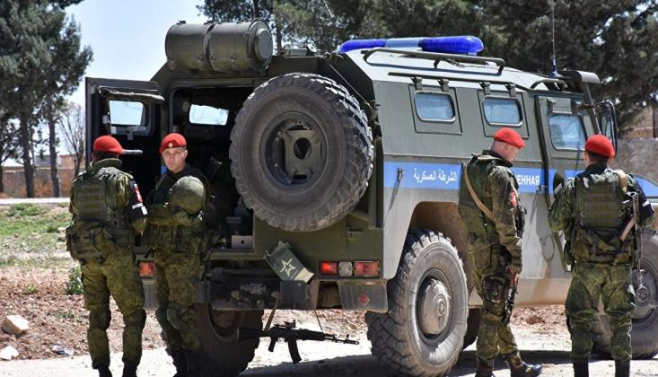 Suriye'de Rus Askeri Devriyeye Bombalı Saldırı