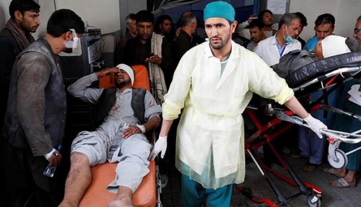 Kabil'de Bombalı Saldırı: Ortalık Savaş Alanına Döndü
