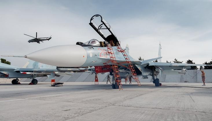 Rusya Suriye'deki Hava Üssünün Kapasitesini Artırdı
