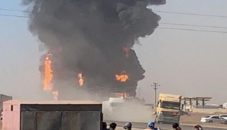 İran Sınır Kapısında Patlama! VİDEO