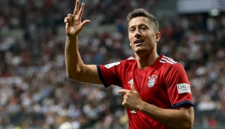 Lewandowski Kariyer Rekorunu Kırdı
