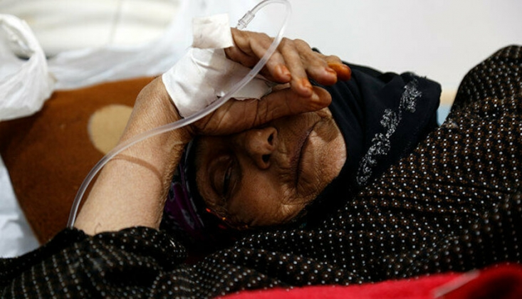 Yemen'de 204 Bin Şüpheli Kolera Vakası