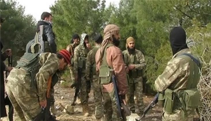 İdlib'de Teröristler Suriye Ordusu Mevzilerine Saldırdı