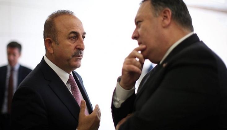 Çavuşoğlu, Pompeo İle Mazlum Kobani'yi Görüştü