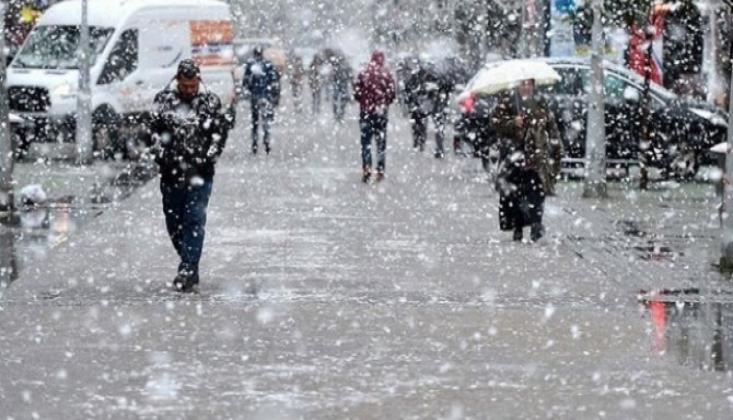Meteoroloji'den Kar ve Fırtına Uyarısı!