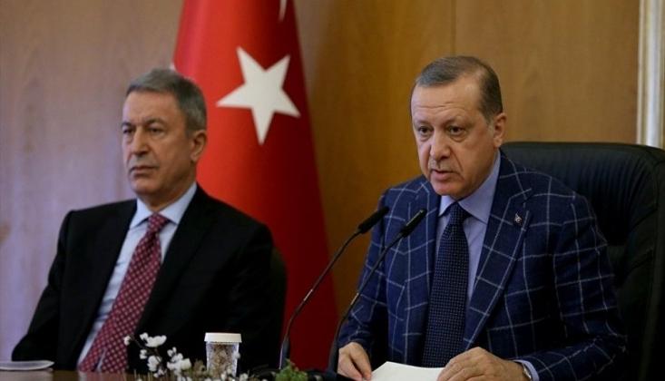 Erdoğan, Akar ile Görüştü: Gündem İdlib