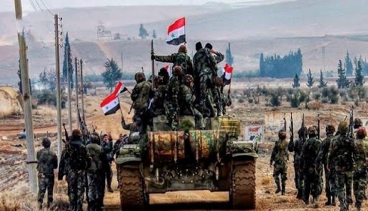 Suriye Ordusunun İdlib'de İlerlemesi Sürüyor