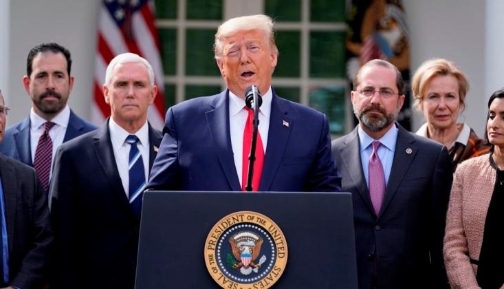Trump, Koronavirüs Nedeniyle Ulusal Acil Durum İlan Etti