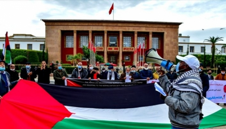 Fas'ta İsrail ile Normalleşme Tepkisi