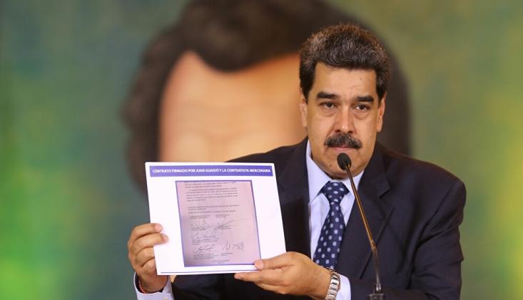Maduro, 'Guaido ile ABD'liler Arasında İmzalanan' Belgeyi Açıkladı