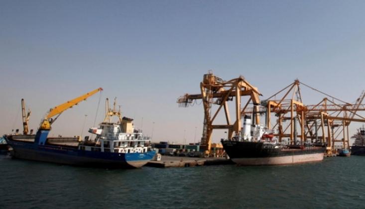 Yemen'in El'Hudeyde'deki Yakıt Depoları Boşaldı!