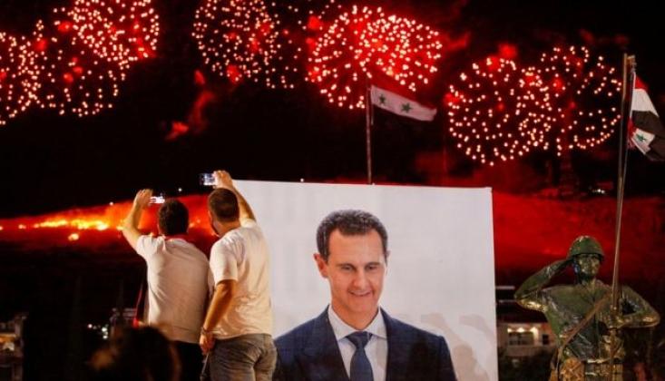 Çin, Başkan Esad'ı Tebrik Etti