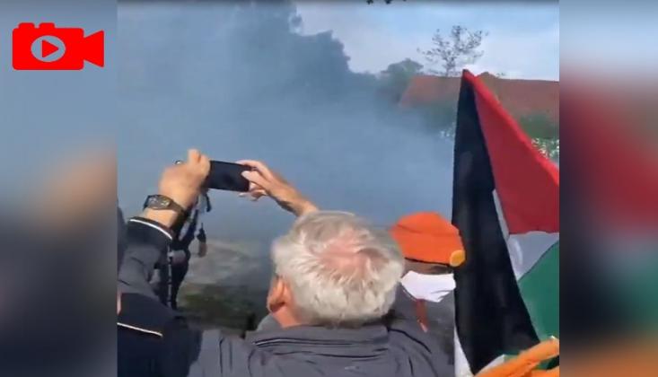 Danimarka Polisi Filistin'e Destek Gösterisi Düzenleyen Vatandaşlara Saldırdı
