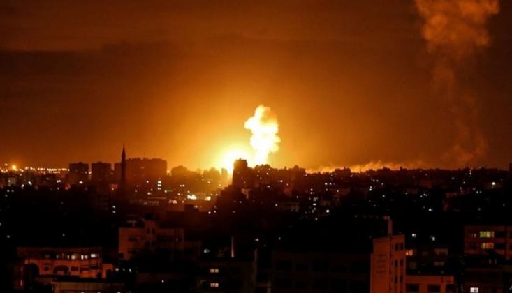 Siyonist Rejimin Gazze'ye Saldırıları Sürüyor