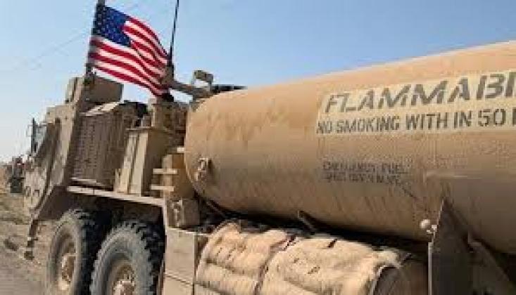Amerikalı İşgalciler, 6 Suriye Petrol Tankerini Çaldı
