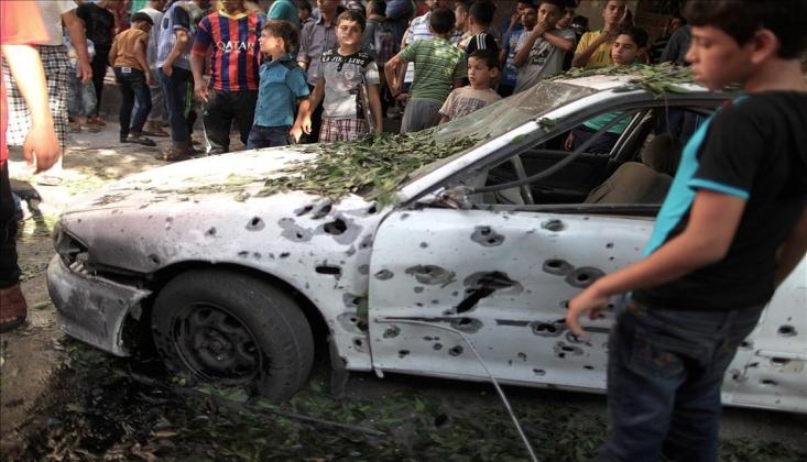 Siyonist İsrail Eş-Şati Kampını Vurdu