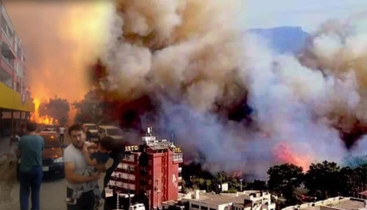 Hatay'da Yangın Söndürme Çalışmaları Sürüyor: 'Gözaltılar Var'